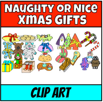 Guess the gift Christmas Clipart