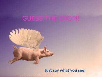 Guess the idiom quiz!