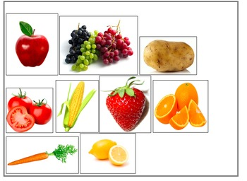 Guess what fruit or vegetable