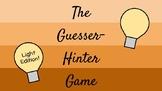 Guesser-Hinter Game - Light Edition