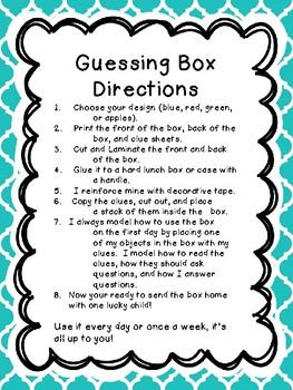 Guessing Box