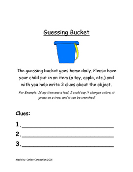 Guessing Bucket