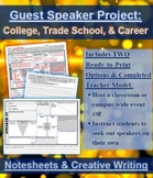 Guest Speaker Notesheets & Creative Writing Project