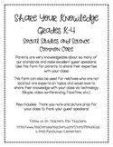Guest Speaker Parent Invite Questionnaire Beginning of the Year
