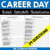 Career Day - Guest Speaker Questions (A Day in the Life of...)