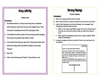 Guest Teacher Guide, 3rd - 8th Grades
