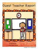 Guest Teacher Report