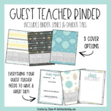 Guest Teacher/Substitute Binder for Middle and High School