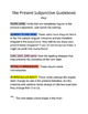 Guía al Presente del Subjuntivo - Guide to the Present Subjunctive - Spanish