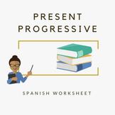 Guía presente progresivo / present progressive in spanish.