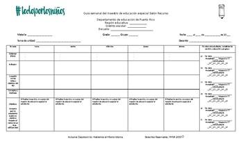Guía semanal_Salón Recurso_EDITABLE