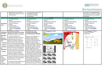 Guías semanales Matemática 3.2