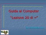 Guida al Computer: Lezione 20 - Il Modem/Router Parte 2