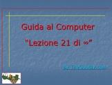 Guida al Computer: Lezione 21 - La Stampante Parte 1