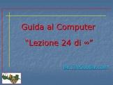 Guida al Computer: Lezione 24 - Le Cuffie e il Microfono