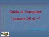 Guida al Computer: Lezione 26 - Lo Scanner Parte 1