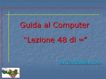 Guida al Computer: Lezione 48 - Il 1^ Avvio - Il B.I.O.S. Parte 8