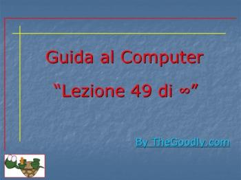 Guida al Computer: Lezione 49 - Formattazione e Partizionamento Parte 1