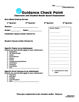 Guidance Check Point