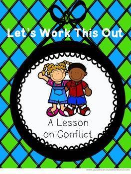 Guidance Lesson BUNDLE for Conflict Resolution, Grades K-6