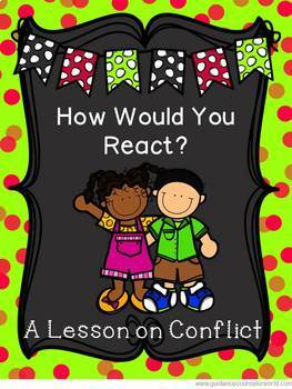 BUNDLE:  Guidance Lessons for Conflict Resolution, Grades K-6