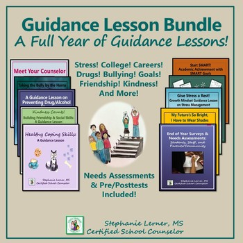 Guidance Lesson Bundle: A Full Year of Guidance Lessons!