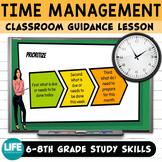 Guidance Lesson: Time Management -Google Slides