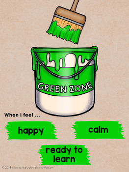 Guidance Lesson-Zones of Emotions Toolbox, Grades 2-3