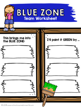 Guidance Lesson-Zones of Regulation Toolbox, Grades 4-6