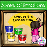 Guidance Lesson-Zones of Emotions Toolbox, Grades 4-6