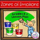 Guidance Lesson-Zones of Regulation Toolbox, Grades K-1