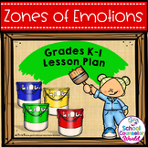 Guidance Lesson-Zones of Regulation Toolbox, Grades K-1