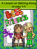 Guidance Lesson for Getting Along, Grades 4-6