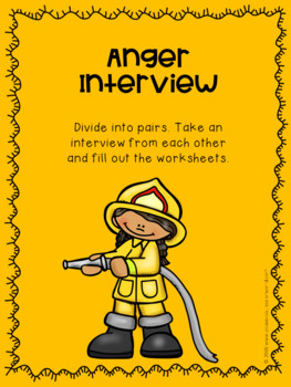 A Guidance Lesson on Anger, Grades 2-3
