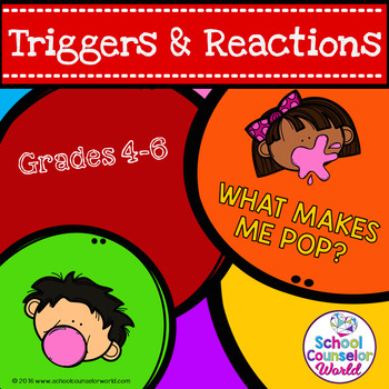 A Guidance Lesson on Anger (Triggers & Reactions), Grades 4-6