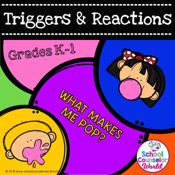 A Guidance Lesson on Anger (Triggers & Reactions), Grades K-1