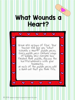 Guidance Lesson on Bullying: Band-aids Can't Cover Up Bullying, Grades 4-6