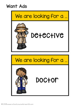 A Guidance Lesson on Careers, Grades 4-6