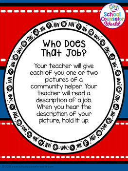 Guidance Lesson on Careers, Grades K-1