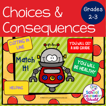 An INTERACTIVE Lesson on Choices=Consequences/Rewards, Grades 2-3