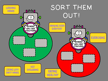 An INTERACTIVE Lesson on Choices=Consequences or Rewards, Grades 4-6