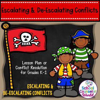 Guidance Lesson on Escalating/De-escalating Conflicts, Grades K-1