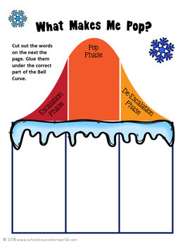 Guidance Lesson on Conflict Resolution: The Bell Curve Pop! Grades 2-3