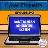 Guidance Lesson on Cyber Bullying, Grades 2-3