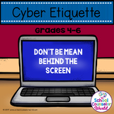 Guidance Lesson on Cyber Bullying, Grades 4-6