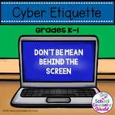 A Guidance Lesson on Cyber Bullying, Grades K-1