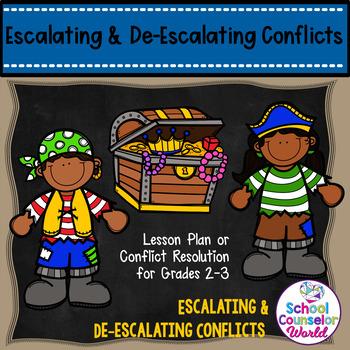 Guidance Lesson on Escalating/De-escalating Conflicts, Grades 2-3