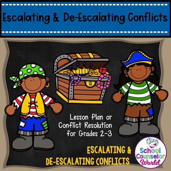 Guidance Lesson on Escalating/De-escalating Conflicts, Grades 2-3