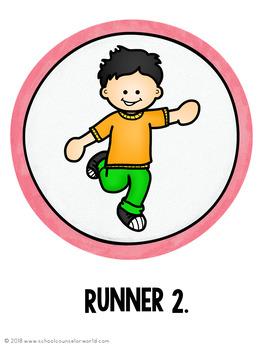 Guidance Lesson on Growth Mindset: Your Best Marathon, Grades 2-3