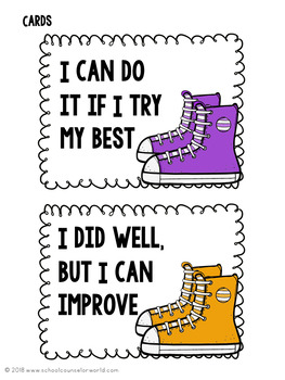 Guidance Lesson on Growth Mindset: Your Best Marathon, Grades K-1